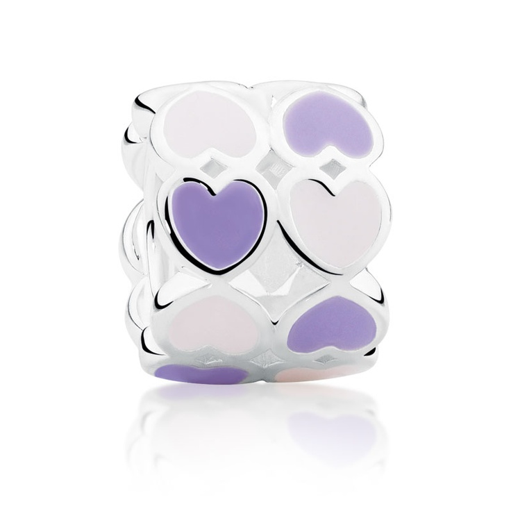 NEW Sterling silver and enamel charm. Available in Michael Hill Charm Boutiques. (SKU 11990765)