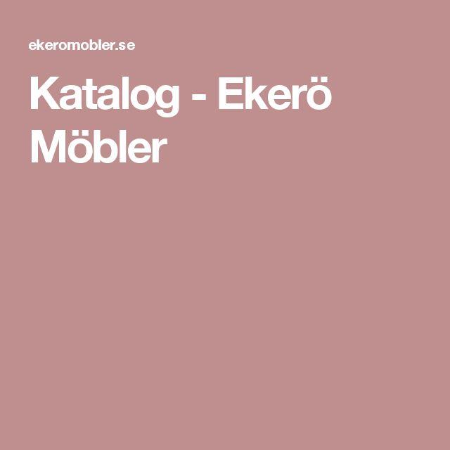 Katalog - Ekerö Möbler