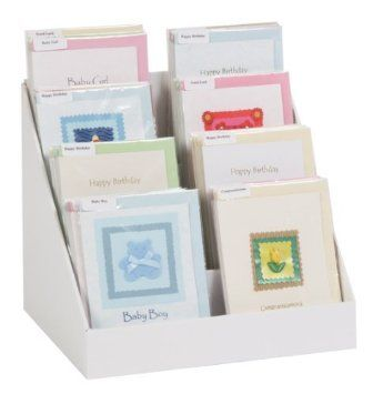 """12"""", Cardboard Greeting Card Display Stand: Amazon.co.uk: Office Products"""