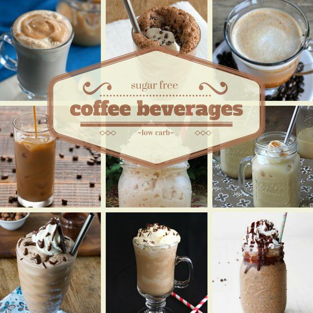 SUGAR FREE Low Carb Coffee Beverages!!