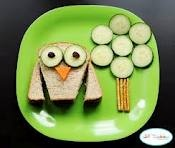 cute kids lunch idea