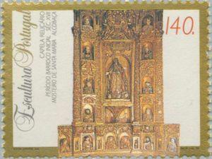 Sello: Sculptures (Portugal) (Sculptures) Mi:PT 2025,Sn:PT 2005,Yt:PT 2003,Afi:PT 2223