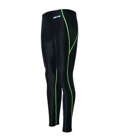 2017 Swimwear Men's Swimsuit Sharkskin Water Repellent Men's Swimming Trunks Men's Sport Long Leg Swimwear Sunga Plus Size