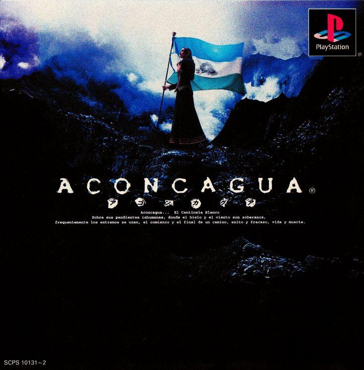 """""""(via Cool Box Art on Twitter: """"Aconcagua / PlayStation / SCEI / 2000 https://t.co/ppneUNUwjP"""") https://t.co/s1Fjo3jwVm"""""""