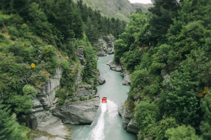 Take a Tilt-Shifted Look at Queenstown, New Zealand