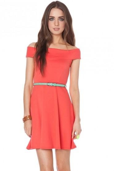 Filippa off shoulder dress