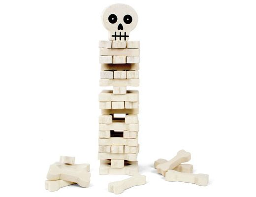 Kikkerland Design Inc » Products » Stack The Bones Game