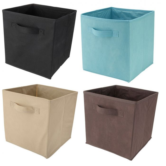 Storage Bins Benefits And Types Designalls In 2020 Cube Storage Bins Fabric Storage Bins Cubby Storage Bins