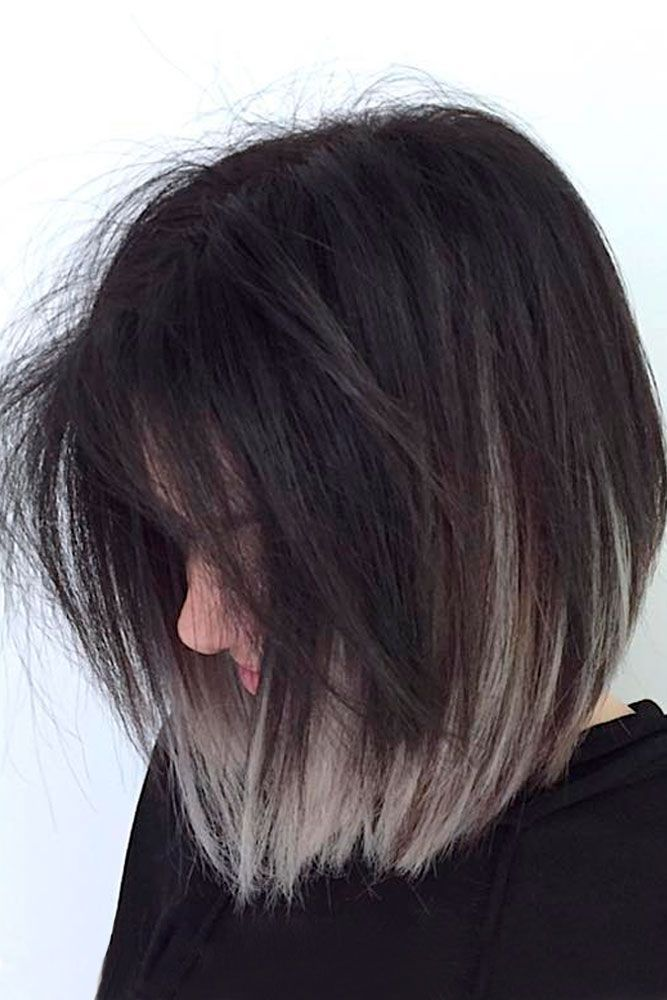 Grey Ombre Hair Ideas To Rock This Year Grey Ombre Hair Is One Of The Most Influential Recent Color Trends Short Ombre Hair Grey Ombre Hair Short Hair Color