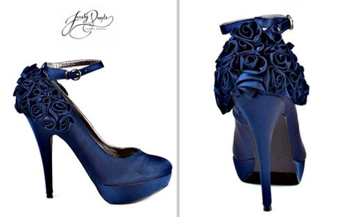 1000+ Ideas About Navy Wedding Shoes On Pinterest