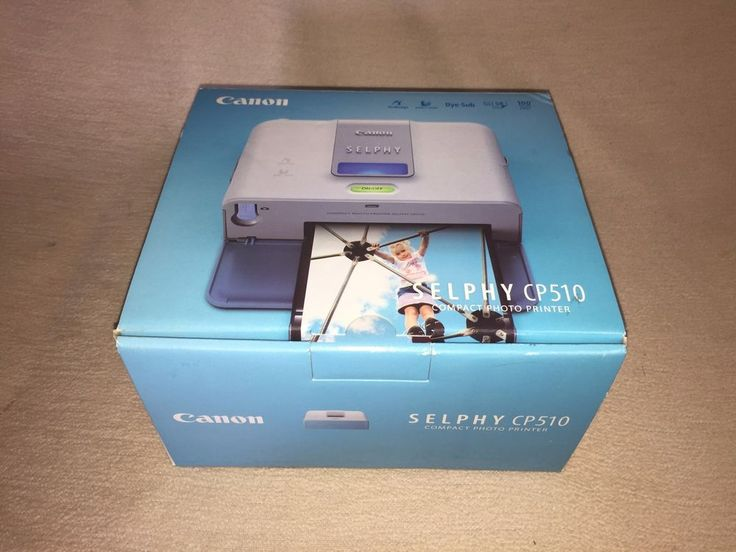 Thermodrucker Canon Selphy CP 510 Fotodrucker weiß
