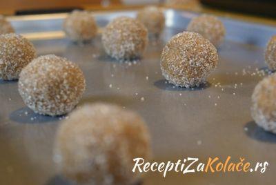 Keks kuglice http://www.receptizakolace.rs/kolaci-recepti/sitni-kolaci-recepti/22-keks-kuglice