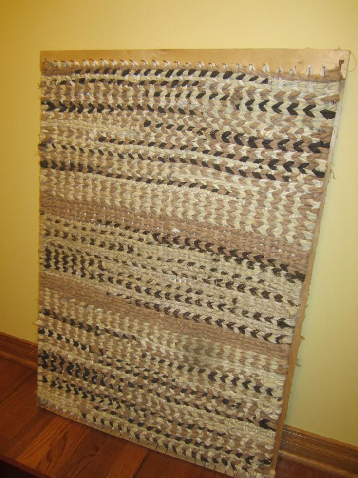 Simply Resourceful: How to Make a Rag Rug