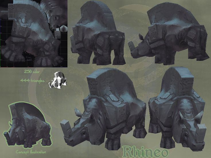 LOWPOLY (sub 1000~ triangle models) - Page 126 - Polycount Forum