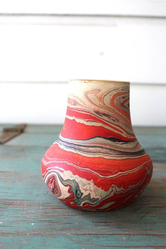 Nemadji Style Southwestern Vase Southwestern Decor by PosyMarket