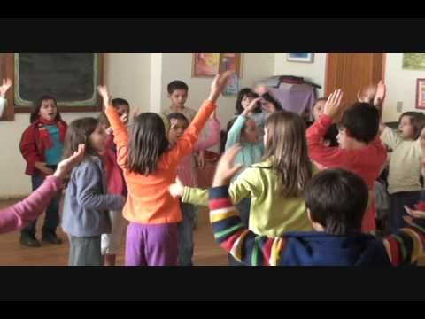 Circle Time at Free Waldorf-Inspired Charter School - YouTube