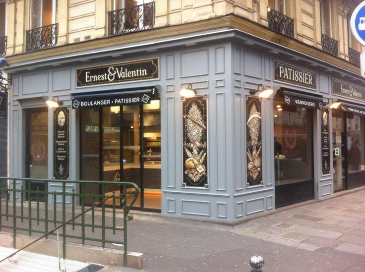 Paris 3e - Ernest & Valentin - Artisan Boulanger & Patissier - 42 Rue Réaumur - Métro Arts et Metiers