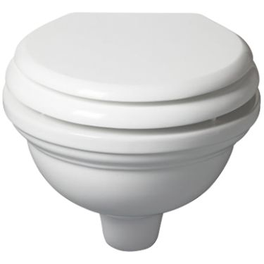 Wall Hung Toilet - Atlantic Ceramic Collections - Bathrooms | Fired Earth