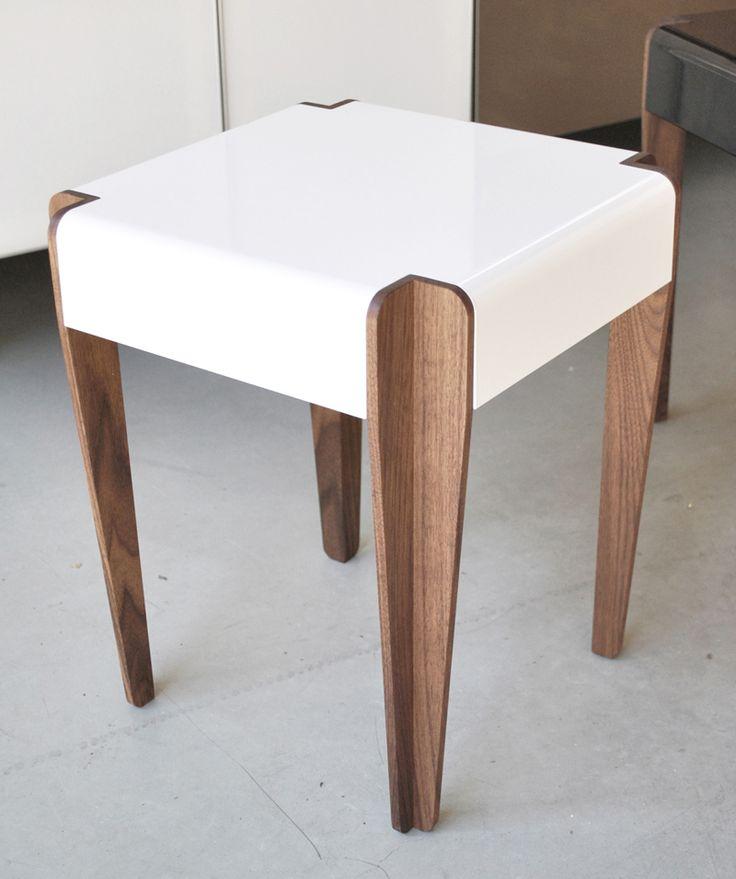 Cornered Side table designed by Studio Murmur