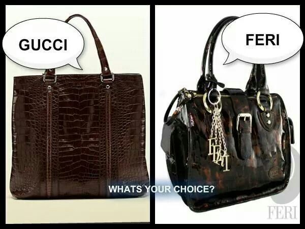 Both luxury handbags are gorgeous. Guess which one pays you to wear it? ;)