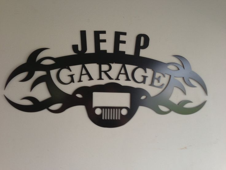 Jeep GARAGE SIGN by SCHROCKMETALFX on Etsy https://www.etsy.com/listing/111090852/jeep-garage-sign