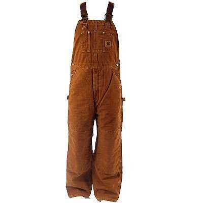 +carhart flannel overalls for men | ... Overalls > Carhartt Overalls: R42BRN Carhartt Bib Overalls Carhart