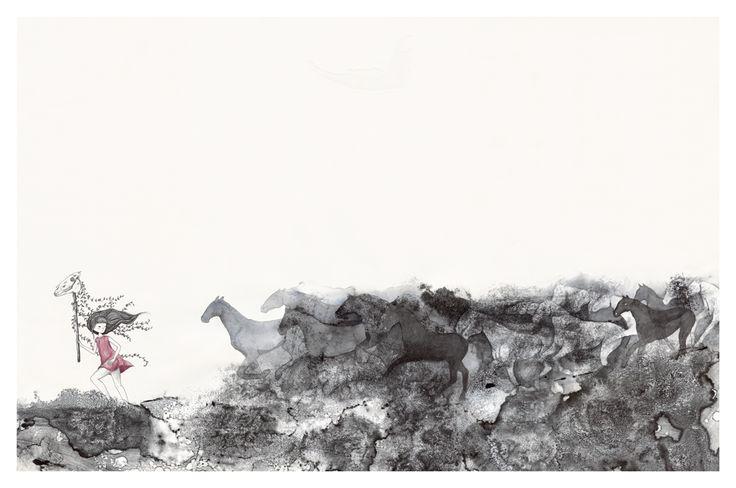 "Wonder Meyer ""Thunder in our Hearts"" Illustration"