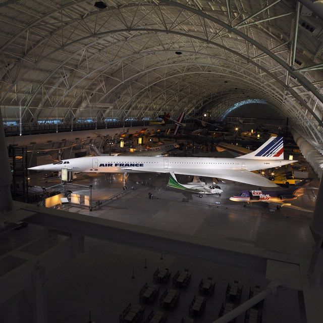 On January 21, 1976, this Concorde flew the first commercial Concorde flight for Air France from Paris to Rio de Janeiro. Concorde entered service that day with two flights that took off simultaneously, one Air France and one British Airways.