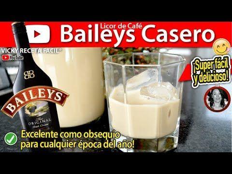 Cómo hacer BAILEYS CASERO LICOR DE CAFÉ estilo Vicky Receta Facil