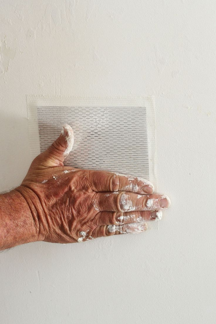 How to patch a hole in drywall or plaster walls patching