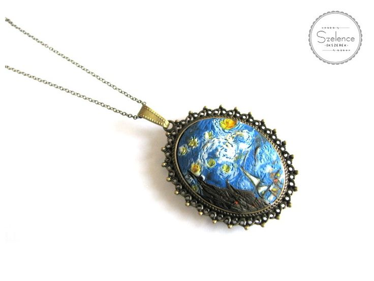 "Van Gogh ""Starry night"" Necklace 
