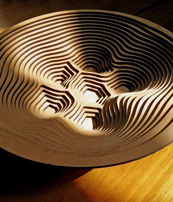 Contour Bowl by Thomas Pavitte, via Behance