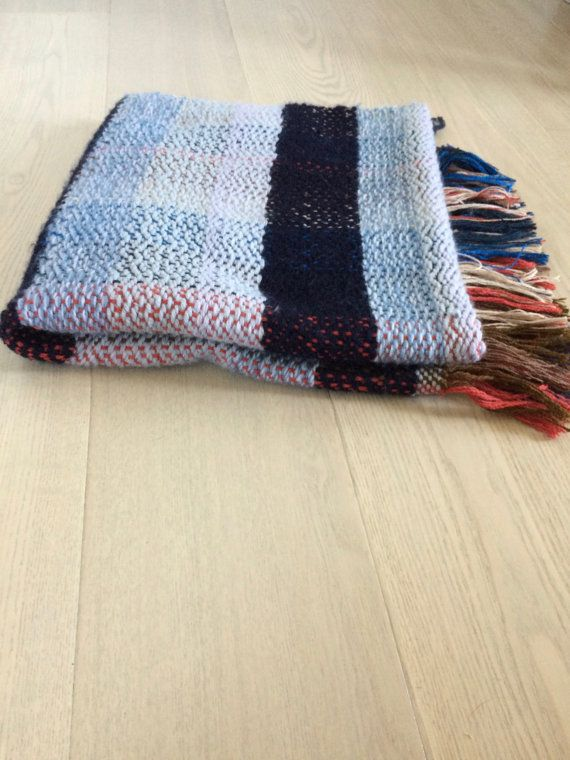 Handwoven Wool Blanket No. 3.4