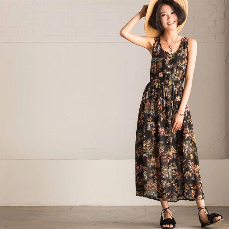 Flower dress summer women clothes