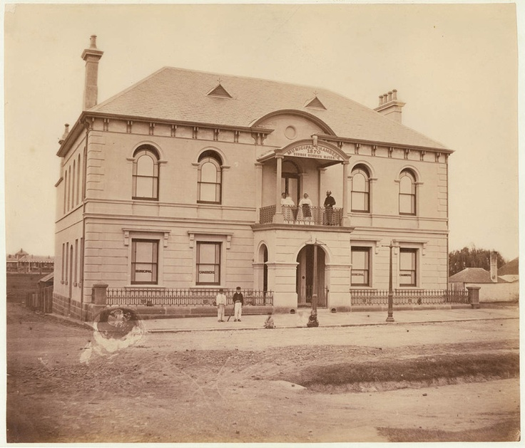 [Municipal Chambers, Redfern / attributed to Charles Pickering], 1871. From the collection of the State Library of NSW http://www.sl.nsw.gov.au/