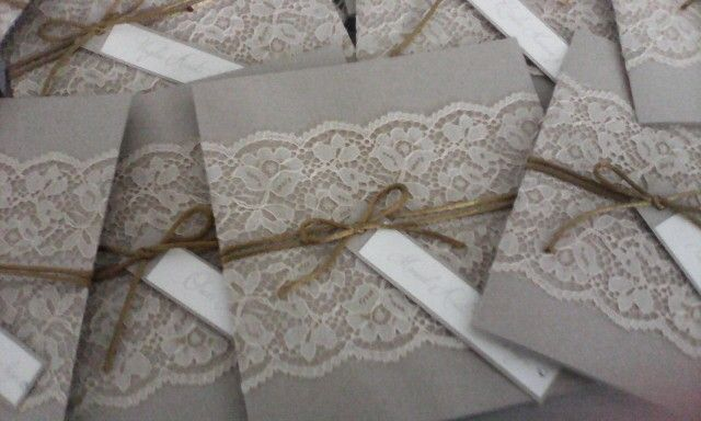 #bodasvintage #ecologico #invitaciones #romantico