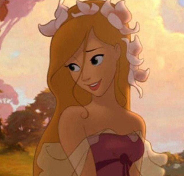 Blonde Princess W Pink Dress Cartoon Profile Picture Cartoon Profile Pictures Cartoon Profile Pics Princess Cartoon