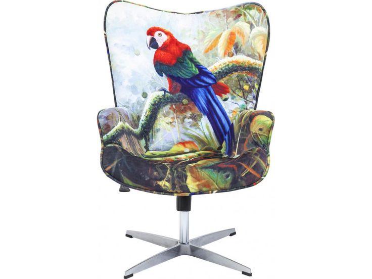Krzesło Biurowe Jungle Fever — Krzesła biurowe Kare Design — sfmeble.pl