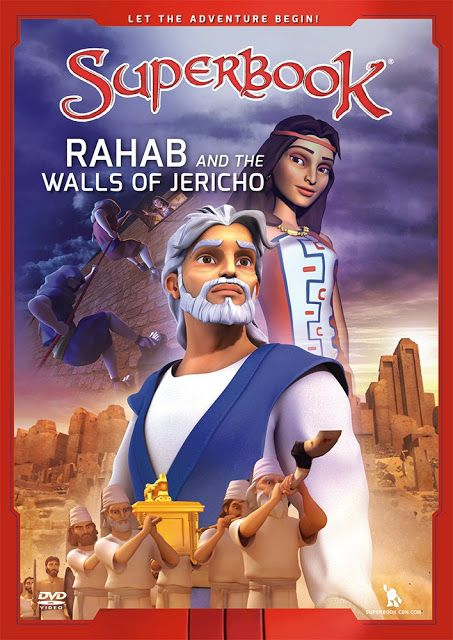 """Superbook"" Rahab and the Walls of Jericho / Η Ραάβ και τα τείχη της Ιεριχούς (2013) - Christian And Sociable Movies"