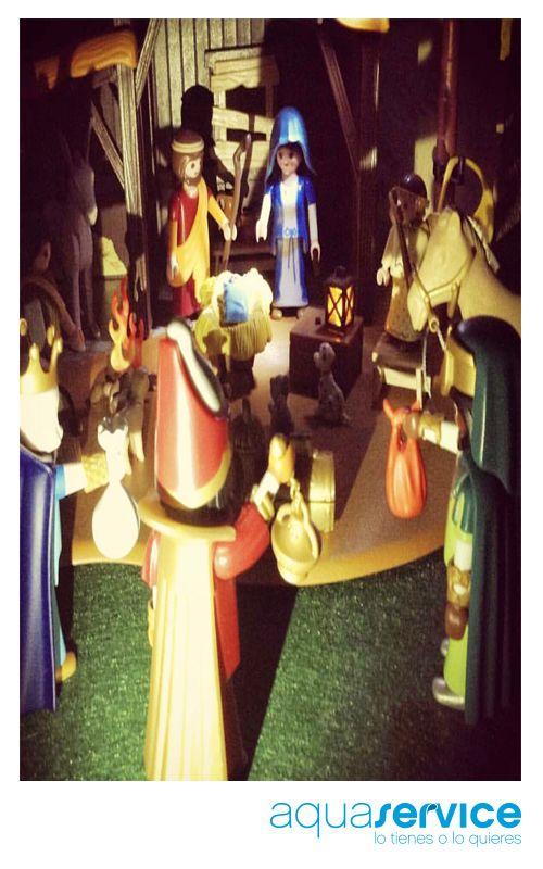 Mario, ganador de nuestro sorteo, ha llenado de navidad su hogar con nuestro regalo. ¡Gracias por participar! #ganaconaquaservice