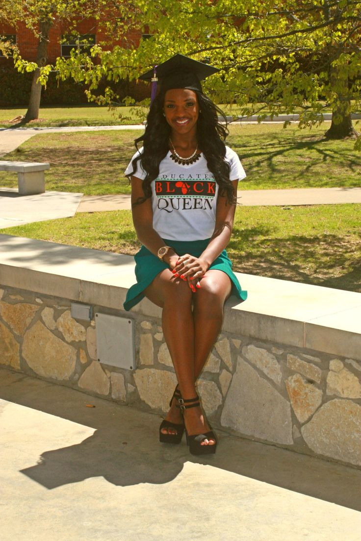 Haute Greek Culture T Shirt Educated Black Queen  College -3512