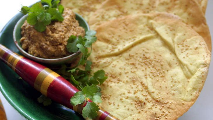 Serve Persian dip as part of a banquet-style meal.