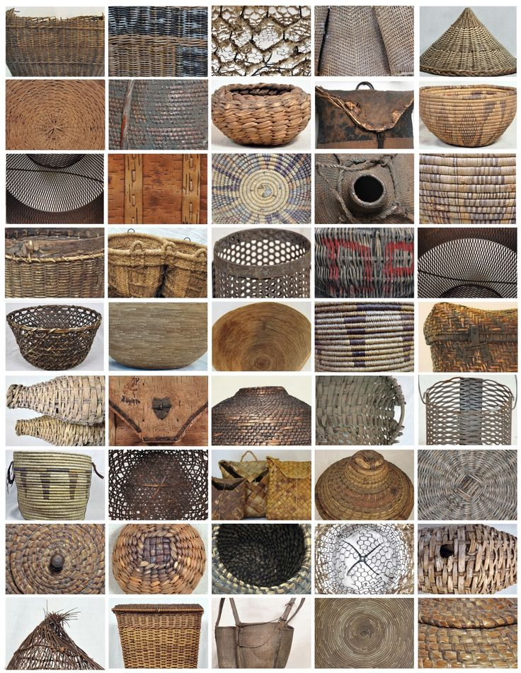 The Objects of My Desire...: Woven Basket Collection