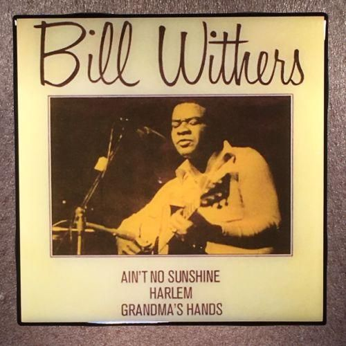 BILL WITHERS Coaster Ceramic Tile Ain't No Sunshine Lean On Me Grandma's Hands