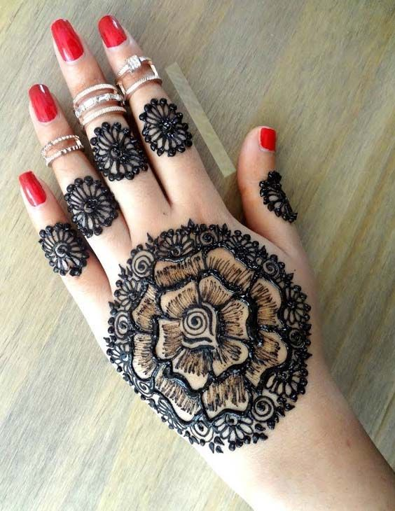 You may collect so many different ideas of amazing henna designs to opt for 2018.