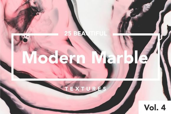 Modern Marble Ink Textures Vol. 4 by Fox & Bear on @creativemarket