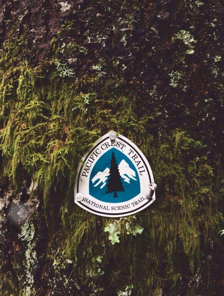 Pacific Crest Trail marker
