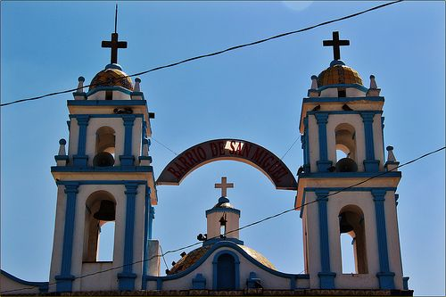 Capilla San Miguel,San Pablo del Monte,Estado de Tlaxcala,México