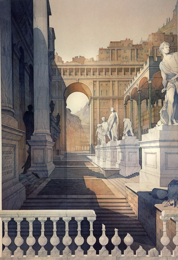 Watercolor art history - Thomas Wells Schaller Architecture In Watercolor 2nd Edition Mcgraw Hill Nyc