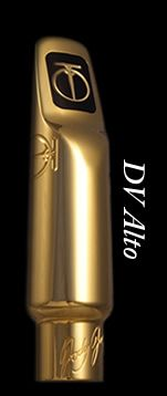 JodyJazz DV metal Alto Sax Mouthpiece